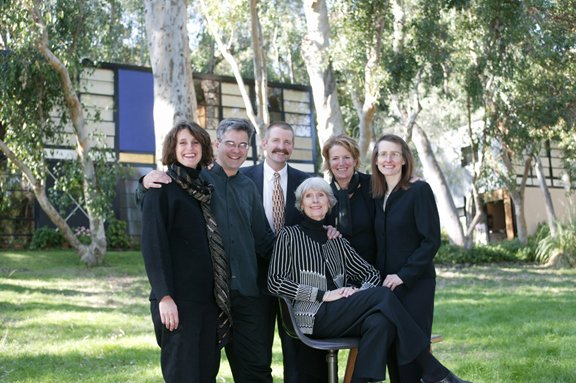 Who We Are Eames family at the Eames House