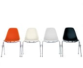 Eames Plastic Side Chair DSS, Design Charles & Ray Eames, 1955 © Vitra.
