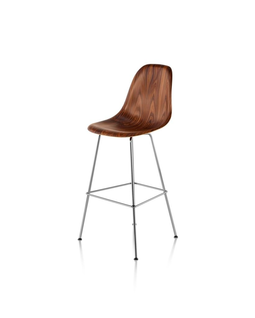 ... Eames Plastic Bar Height Stool. Charles And Rayu0027s Iterative Process  Continually Pushed The Boundaries Of What A Single Shell Chair Could Be.